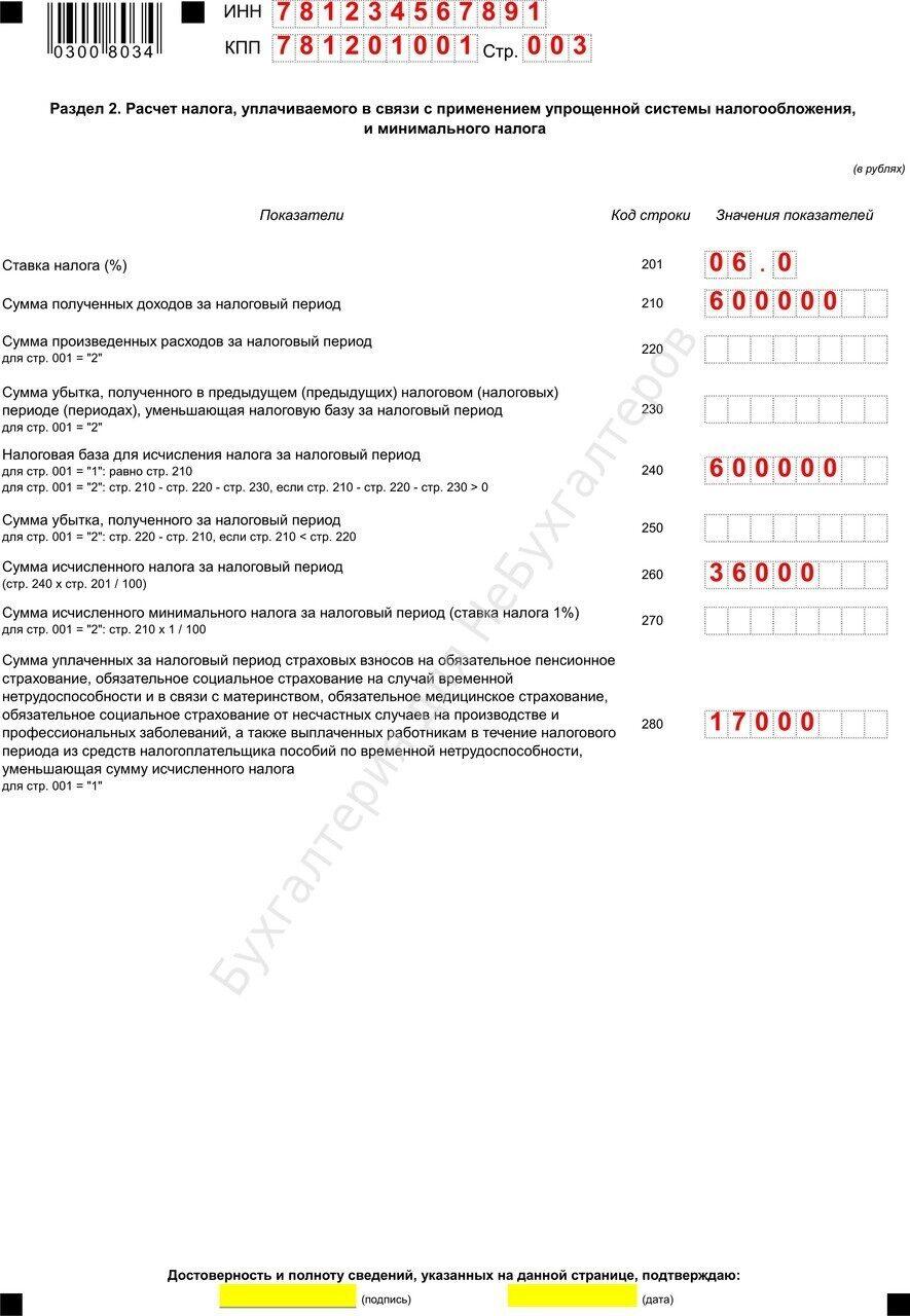 бланк формы ндс-2013- годовой